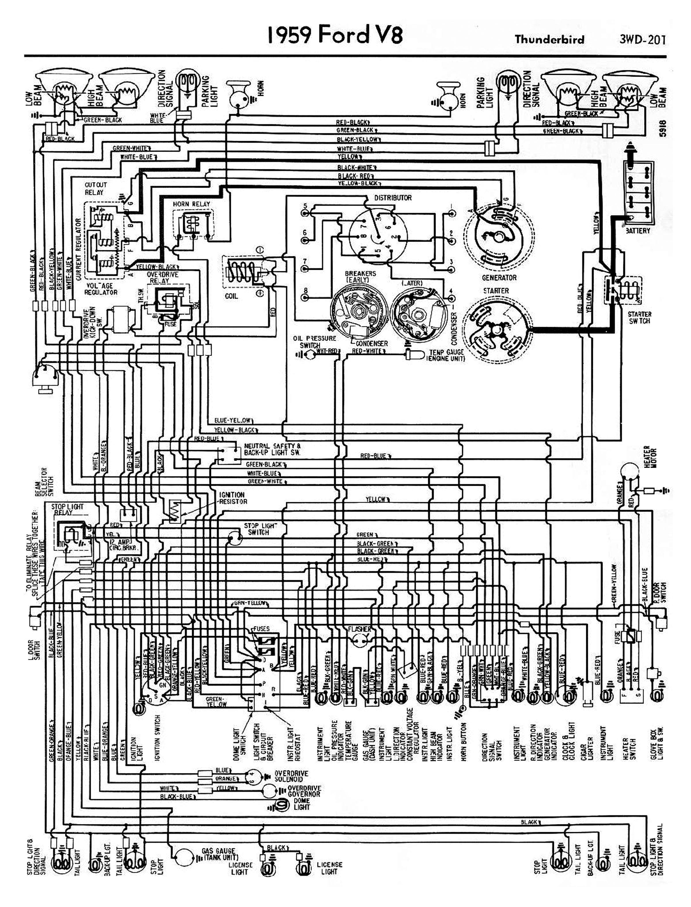 1958 68 ford electrical schematics 2