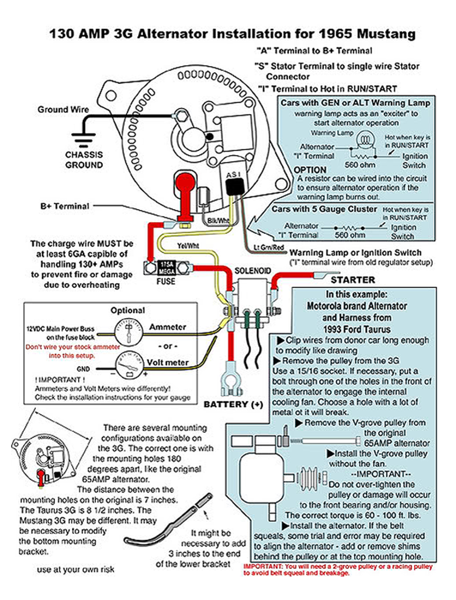 3GAlternator_Large from ford 3g alternator wiring diagram at bayanpartner.co
