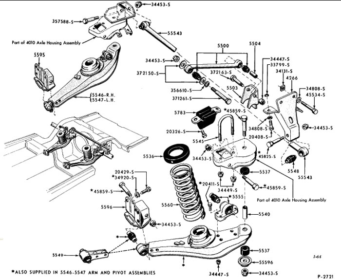 1958 Rear Suspension