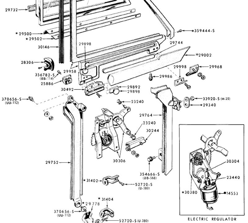 1963 ford thunderbird power window wiring diagram