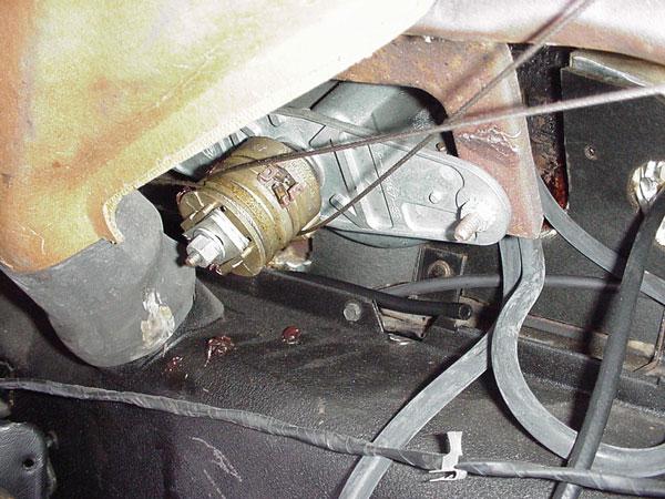 Windshield Wiper Motor Installation