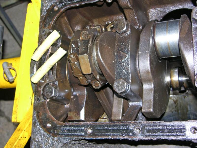 Ford fe 390 crankshaft